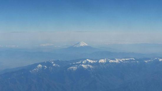年末富士山